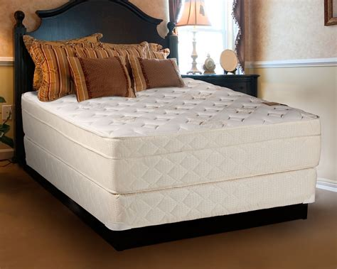 size mattress and box beverlly firm eurotop size mattress and