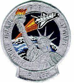 "NASA Space Shuttle Atlantis STS-30 4"" Mission Patch"