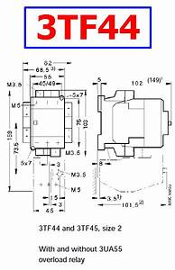 3tf44 Datasheet - Ac Magnetic Contactor