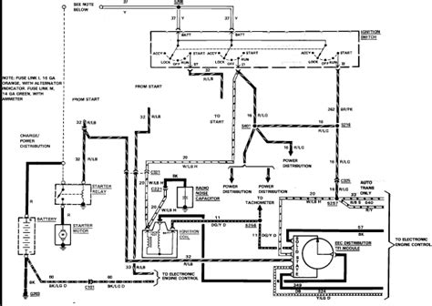 1984 Ford Ignition Wiring by 1984 Ford F150 Wireing Diagram Mounted Solenoid Started