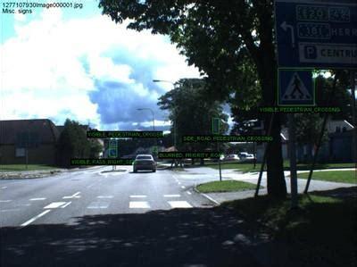 traffic signs dataset