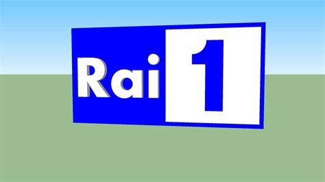 Rai 1 is the flagship television station of rai, italy's national public service broadcaster, and the most watched. Rai 1 Logo (2010-present)   3D Warehouse