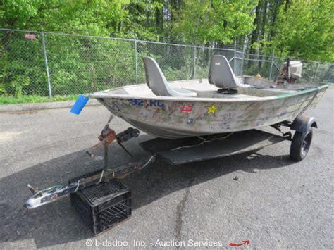 Aluminum Jon Boat Gas Tank by Duroboat 12 Aluminum Fishing Jon Boat Outboard 7 5hp