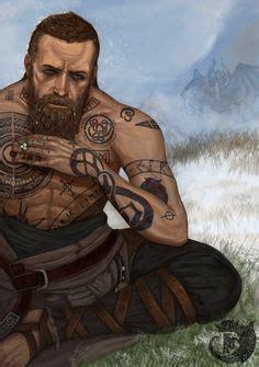 baldur  stranger god  war tattoos tattoo designs
