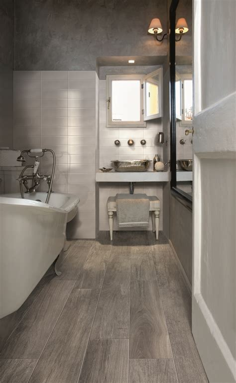 pictures  ideas  wood effect bathroom floor tile