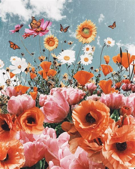 Flower Cute Aesthetic Wallpapers Wallpaper Cave