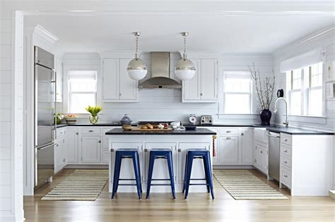 Coastal Open Plan Kitchen Photos Hgtv