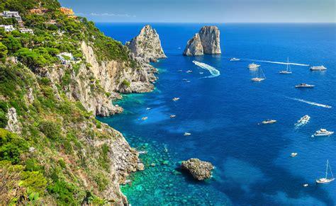 capri favorite sailing destination   tyrrhenian se