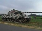 King Tiger tank in France. - YouTube