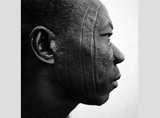 African Face Tattoo