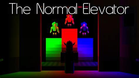 normal elevator roblox