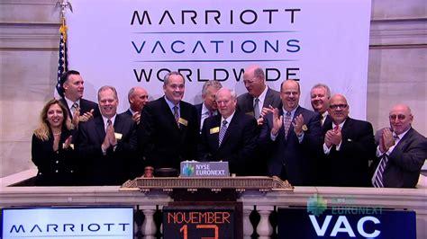 Marriott Vacations Worldwide Corporation Celebrates One ...