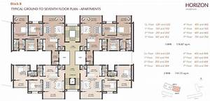 Apartment building plans floor plans cad block for Floor plans for apartments