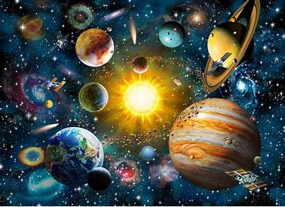 Solar System Background Wall Wallpapers Mural Walls