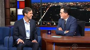 Stephen Colbert Interviews Beto O39Rourke The Democrat