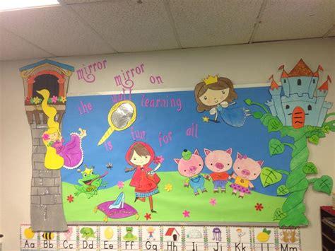 fairytale preschool theme tale board bulletin boards amp doors 272