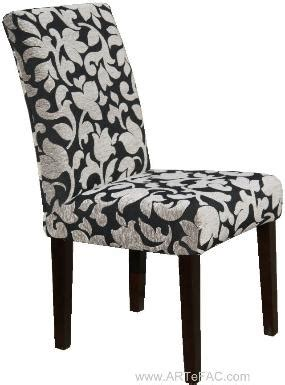 parson dining chairs roll back parson chair slipcovers