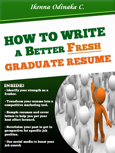 How To Write A Resume After Graduate School by How To Write A Better Fresh Graduate Resume Resume Sles Free Quality Ebook After School