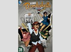 Exclusive Preview DC Comics BOMBSHELLS Chapter 39