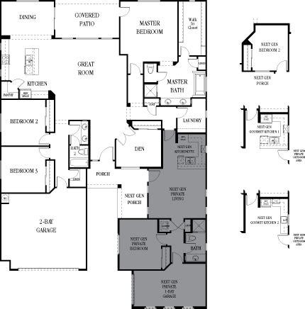 The Multigenerational House Plans by 3 Failings Of Lennar S Nextgen Multigenerational Homes