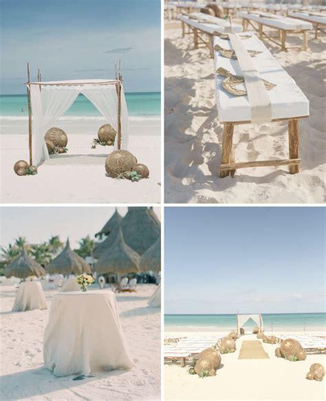 Rustic Beach Wedding Inspiration  Green Wedding Shoes
