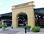 French Market Shopping in French Quarter, Open Air ...