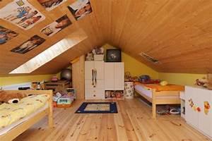 Kinderzimmer Für Zwei : m chten sie ein traumhaftes dachgeschoss einrichten 40 tolle ideen ~ Indierocktalk.com Haus und Dekorationen