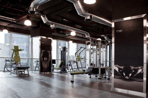 Gym Interior : Hkz| Mena Design Magazine