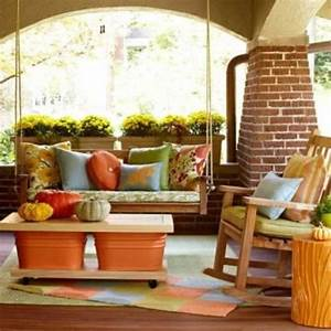 diy welcome the fall with warm and cozy patio decorating With relax warm and decorating front porch ideas