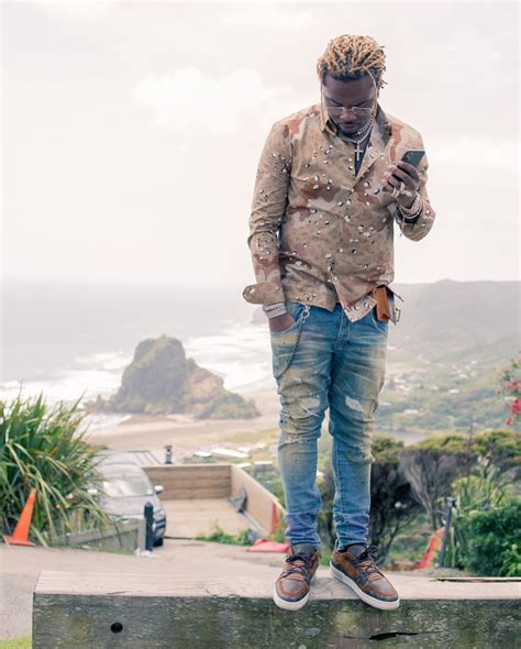 gunna visits nelson nz  louis vuitton fit incorporated style