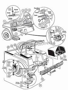 Club Car Parts Diagram Front End
