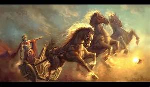 Greek Myths Apollo with His Chariot - Pics about space