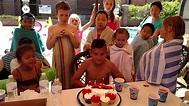 Dimitri's 10th birthday party!! - YouTube