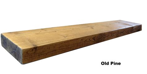 Wooden Floating Shelves by Reclaimed Chunky Floating Shelf Shelves Wooden