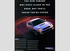 2002 Subaru WRX introduction ad CLASSIC CARS TODAY ONLINE