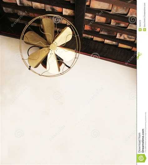 fashioned fan old fashioned ceiling fan stock photos image 1629473
