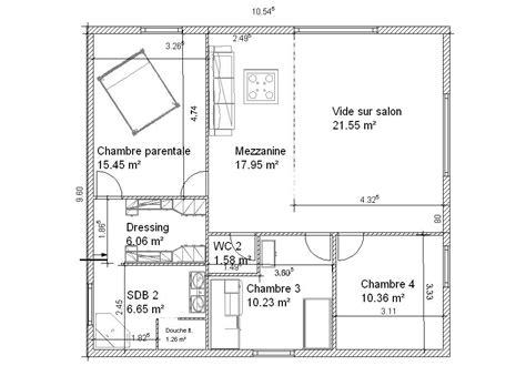chambre parentale 15m2 plan suite parentale 15m2 dudew com