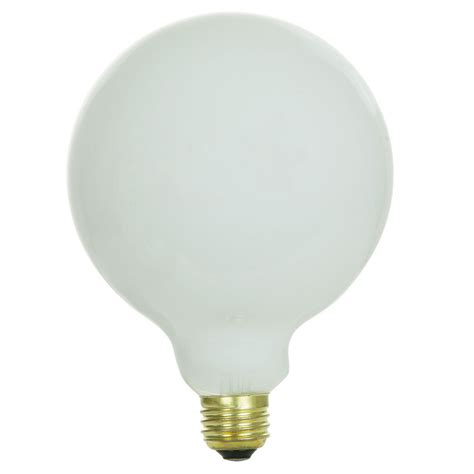 globe light bulb g40 size 60 watt clear glass l