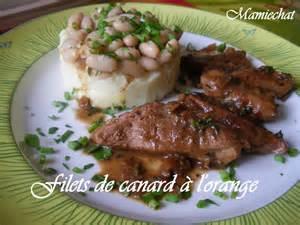 cuisiner filet de canard filet de canard à l 39 orange le de chantal76