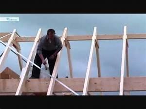 Dachstuhl Selber Bauen : trapezblechdach montieren mit schrauben kalotten und k ~ Whattoseeinmadrid.com Haus und Dekorationen