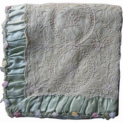 Ribbon Lace Silk Flowers Quilt Rubylane Banner