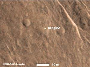 'Lost' 2003 Mars Lander Found by Mars Reconnaissance ...