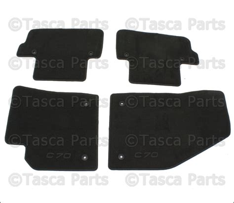 floor mats volvo c70 brand new set oem off black carpet floor mats volvo c70 2006 2012 39813715 ebay