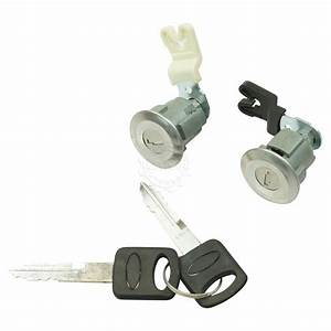 Door Lock Cylinder  U0026 Keys Set Of 2 For Ford Mercury Mazda