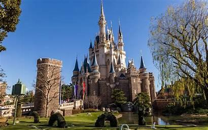 Disneyland Tokyo Japan Castles Parks Disney Tower