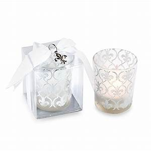 kate aspenr fleur de lis tealight holders wedding favor With kate aspen wedding favors