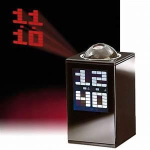 Led Uhr Wand : projektionsuhr wanduhr mit led display und wecker ~ Whattoseeinmadrid.com Haus und Dekorationen