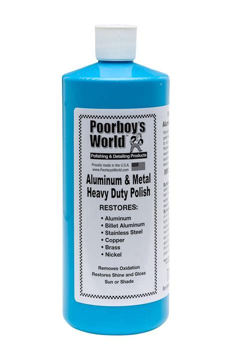 poorboys world heavy duty aluminium metal polish