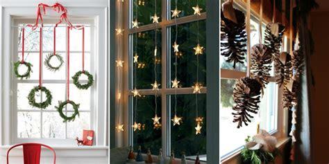 top  bright  sparkling christmas window decoration ideas