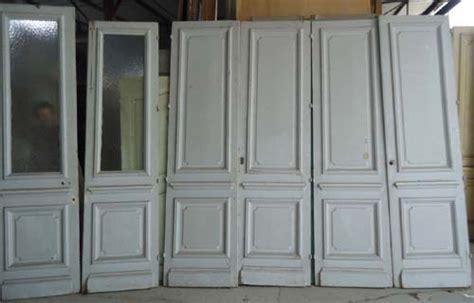 2 telematin cuisine paires de portes interieure en pin haussmannienne
